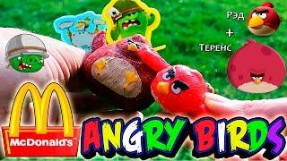Энгри бёрдс Хэппи Мил / Злые Птицы Макдональдс Май 2016   Happy Meal Angry Birds May 2016