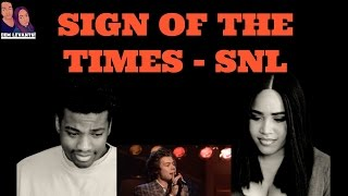 Harry Styles- Sign of the Times SNL| REACTION