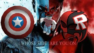 Evento de la Guerra Civil de Roblox Cómo obtener la Máscara Robloxador y el Escudo del Capitán América