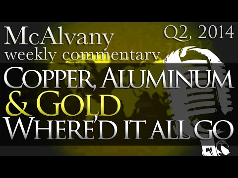 Copper, Aluminum & Gold, Where'd it all go? | McAlvany Commentary