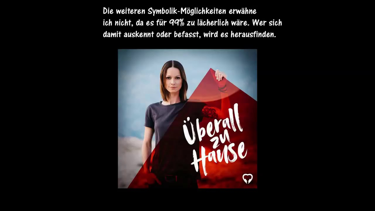 Christina Stürmer überall Zu Hause Symbolik Zum Album Cover