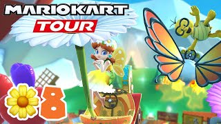 Mario Kart Tour: Flower Tour Part 8: Challenges 100% Completed & Coin Rush