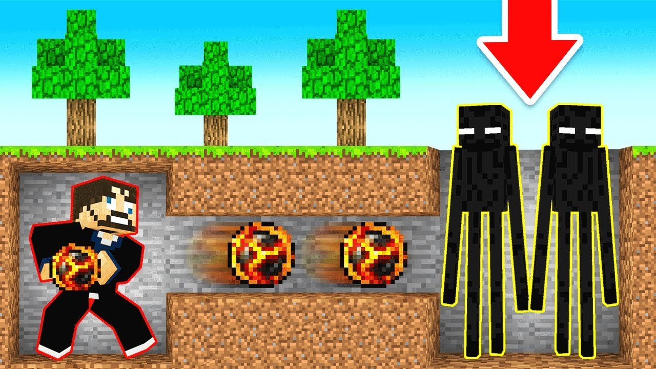 BREAKING Minecraft with an ENDERMAN CHEAT thumbnail