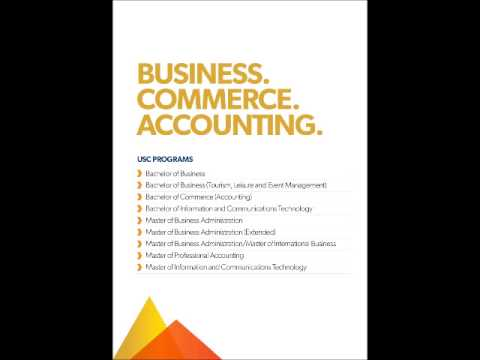 study business, commerce, accounting in Australia - USC(University of Sunsine Coast))