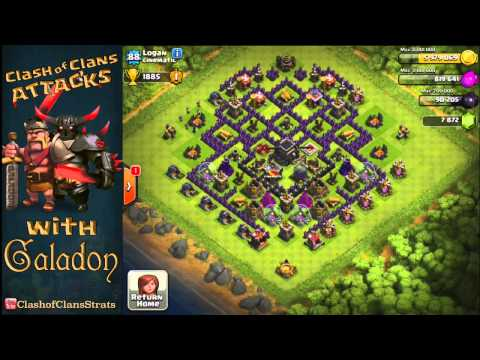 Clash of Clans - Twitch Recap - Noah's Ark Attack and Total Damage!