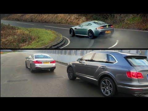 Bentley Bentayga V8 Diesel, BMW M550d en Aston Martin V12 Vantage S AMR. VLOG #147