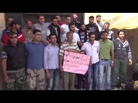 درعا | معربا • جمعة ميثاق الشرف الثوري يمثلنا 23-5-2014