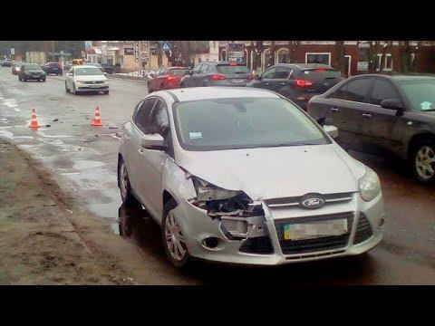 ДТП у Борисполі: на перехресті зіткнулося два авто | 29.03.18