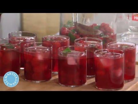 Martha Stewart's Sour Cherry Mojito Recipe - Martha Stewart