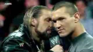 Wrestlemania XXV - Triple H vs Randy Orton Promo Highlights