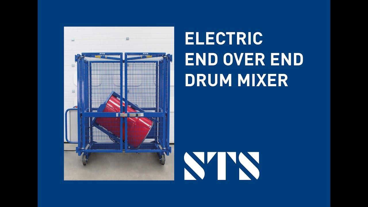 STS - End-over-End 200-Litre Electric Drum Mixer Drum Tumbler (Model: DME01)