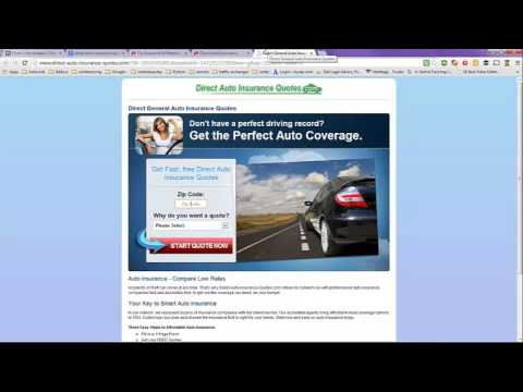 Direct Auto Insurance Quote Online