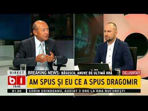 Traian Băsescu, despre dezvăluirile lui Daniel Dragomir: Mi se par greu credibile aceste informații