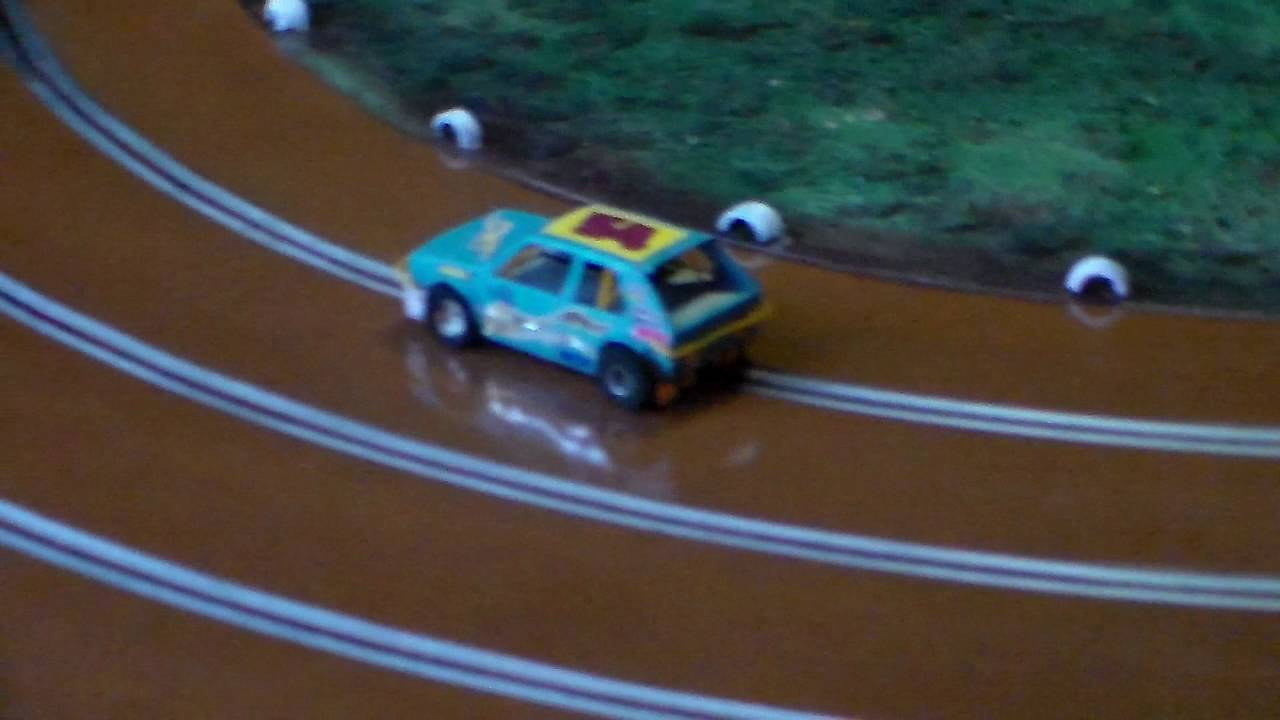 Slot Car Oval Racing Cape Town Boland Raceway First Race Youtube