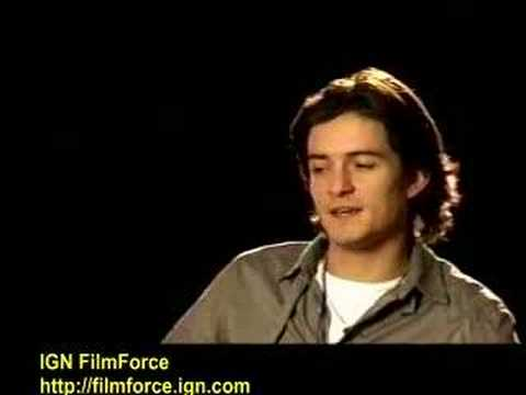 """Kingdom of Heaven"" interview with Orlando Bloom"