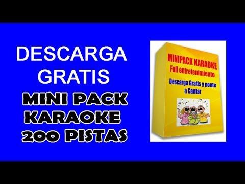 Karaoke Gratis Descargar 200 Pistas Profesionales Y Programa