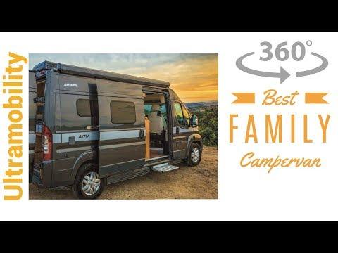 (360 degree video ) Review of 2018 Hymer Aktiv 1.0 | 20 Foot Camper Van that Sleeps 4