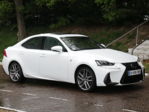 Essai Lexus IS 300h F-Sport Executive 2017