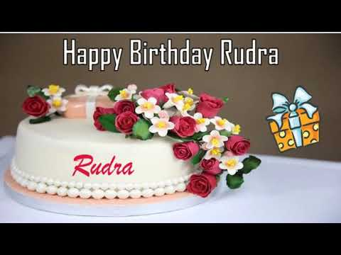 Happy Birthday Rudra Image Wishes✔