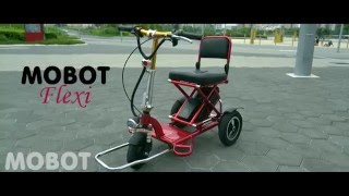 Mobot Flexi: Foldable Mobility Scooter Review