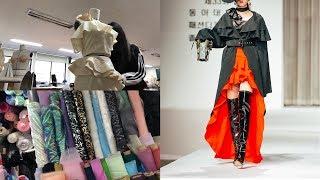 패션디자인학과의 졸업작품 준비부터 패션쇼까지 VLOG …