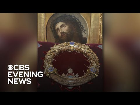 Crown of Thorns, stained glass windows survive Notre Dame Cathedral fire