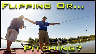 What is the Difference Between Flipping and Pitching? KastKing Bass Fishing Techniques How to Video