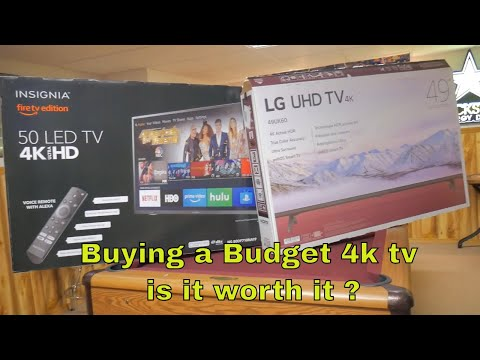 Cheap 4k Tv's.....what To Expect And Are They Worth It