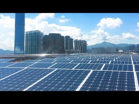 Solar Power Generating Plant @ Harbour City