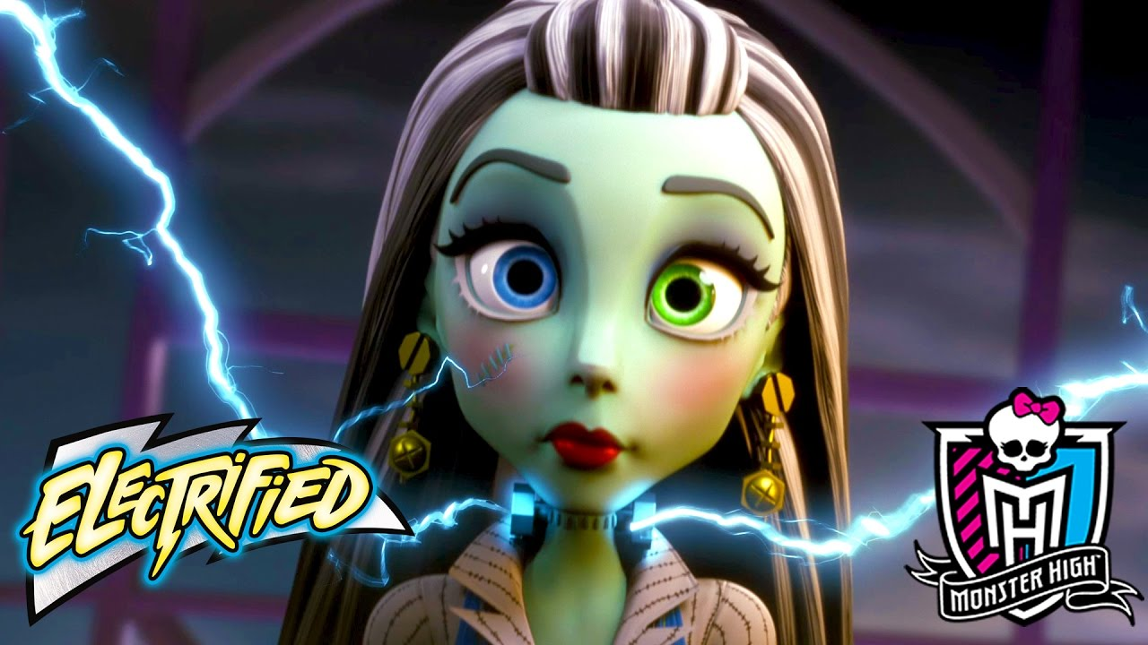 "Monster High ""Electrified"" Official Movie Trailer 