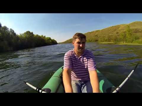 Осенний сплав по р. Дон и Красивая Меча на лодке Уфимка 22
