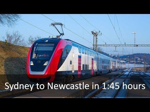 Sydney-Newcastle Fast Rail - FULL ALIGNMENT