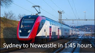 Sydney-Newcastle Fast Rail - FULL ALIGNMENT