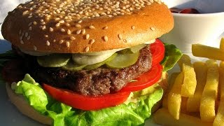 Как приготовить гамбургер. | How to make a hamburger.