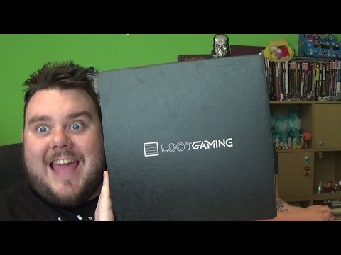 Loot Crate Gaming June 2016 ARENA Unboxing - Mystery Surprise Subscription Box Review