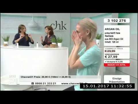 Christine Kaufmann bei Channel21 am 15.01.2017 - Teil 2