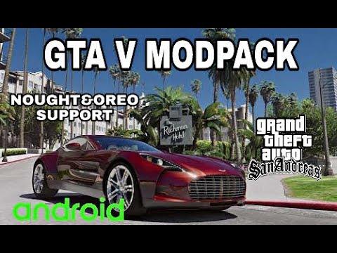 GTA V Modpack For GTA SA|ANDROID|HD With High Graphics|2018