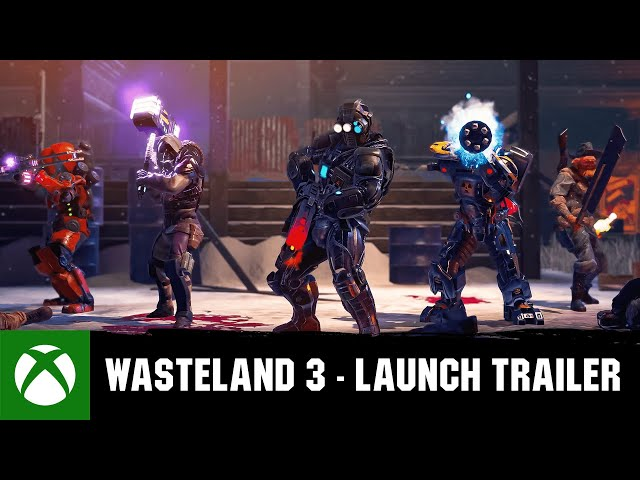 Wasteland 3 - Launch Trailer