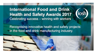 International Food and Drink Health and Safety Awards 2017