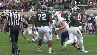 Michigan State vs Air Force Highlights