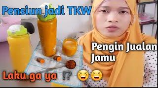 Resep Jamu Kunyit Asam Enak   Traditional turmeric drink recipe