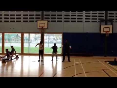 Yr11 GCSE PE fitness circuits S3 8