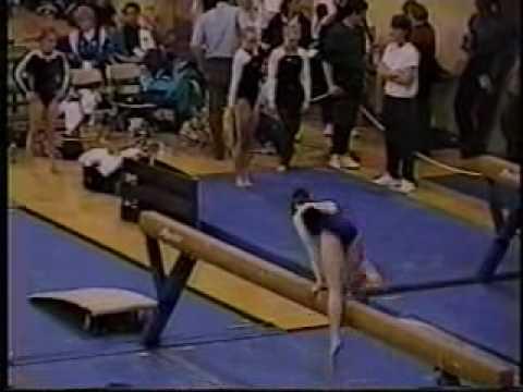 katie hardman 1999 american classic balance beam