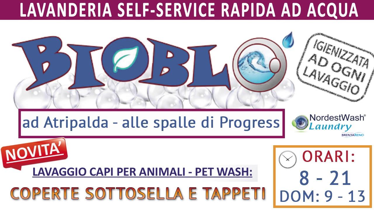 Bioblo lavanderia self service ad atripalda for Lavanderia self service catania