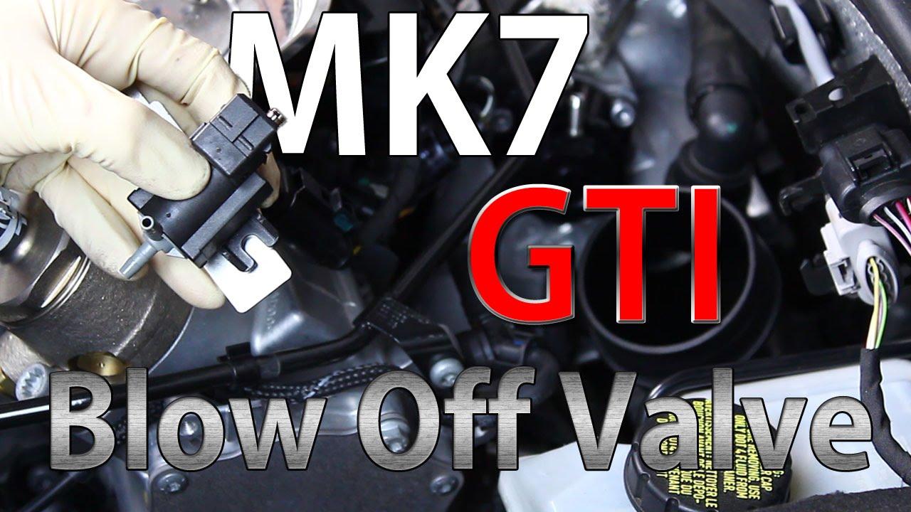 mk7 gti forge blow off valve bov diy youtube. Black Bedroom Furniture Sets. Home Design Ideas