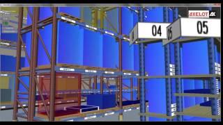 Модуль «3D модель» для '1С WMS  Логистика  Управление складом'