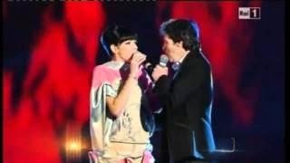 Download HD Luca Barbarossa e Raquel Del Rosario -