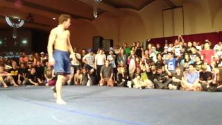 Double Backflip to Death Combo @ Breakin' the Law 7   Tricking Competition