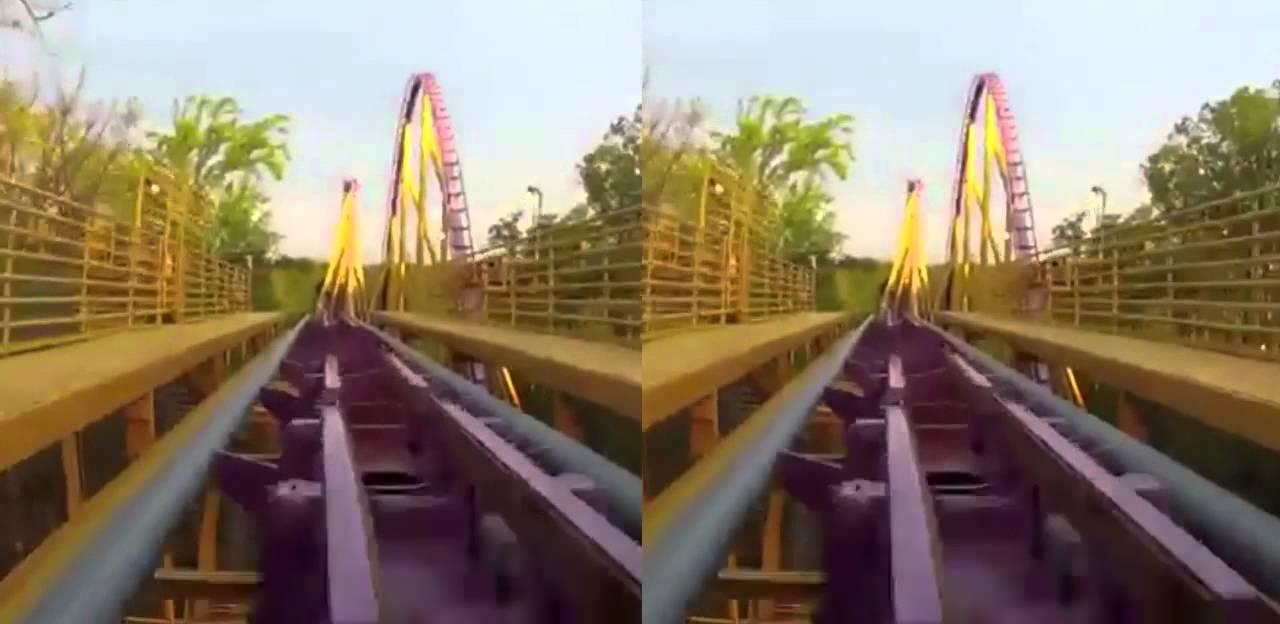 Apollo\'s Chariot - Busch Gardens (Virtual Reality) - YouTube