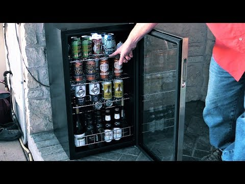 NewAir AB-1200 Refrigerator Review | Best Mini-Fridge for a ManCave